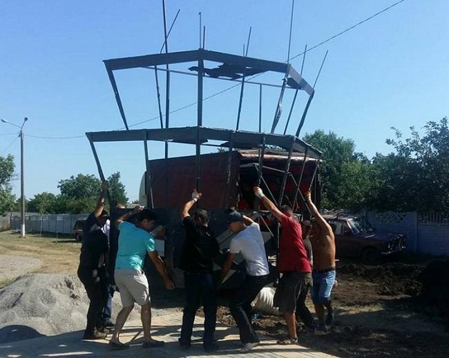 На Одещині встановлять пам ятник у вигляді вежі Донецького аеропорту  (5.63 18) f43976ceeef93