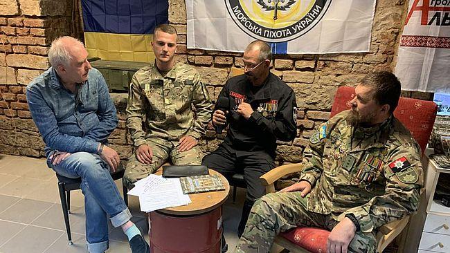 В Чехии поделились опытом ветераны войны на Донбассе