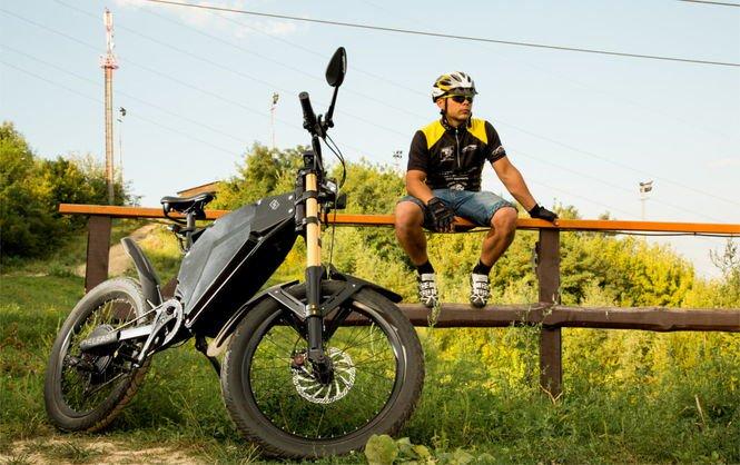 Українські розробники представили гібрид мотоцикла і гірського велосипеда  під назвою Delfast Ebike. Про це на своїй сторінці в Facebook написав ... 769673fc9e6e2