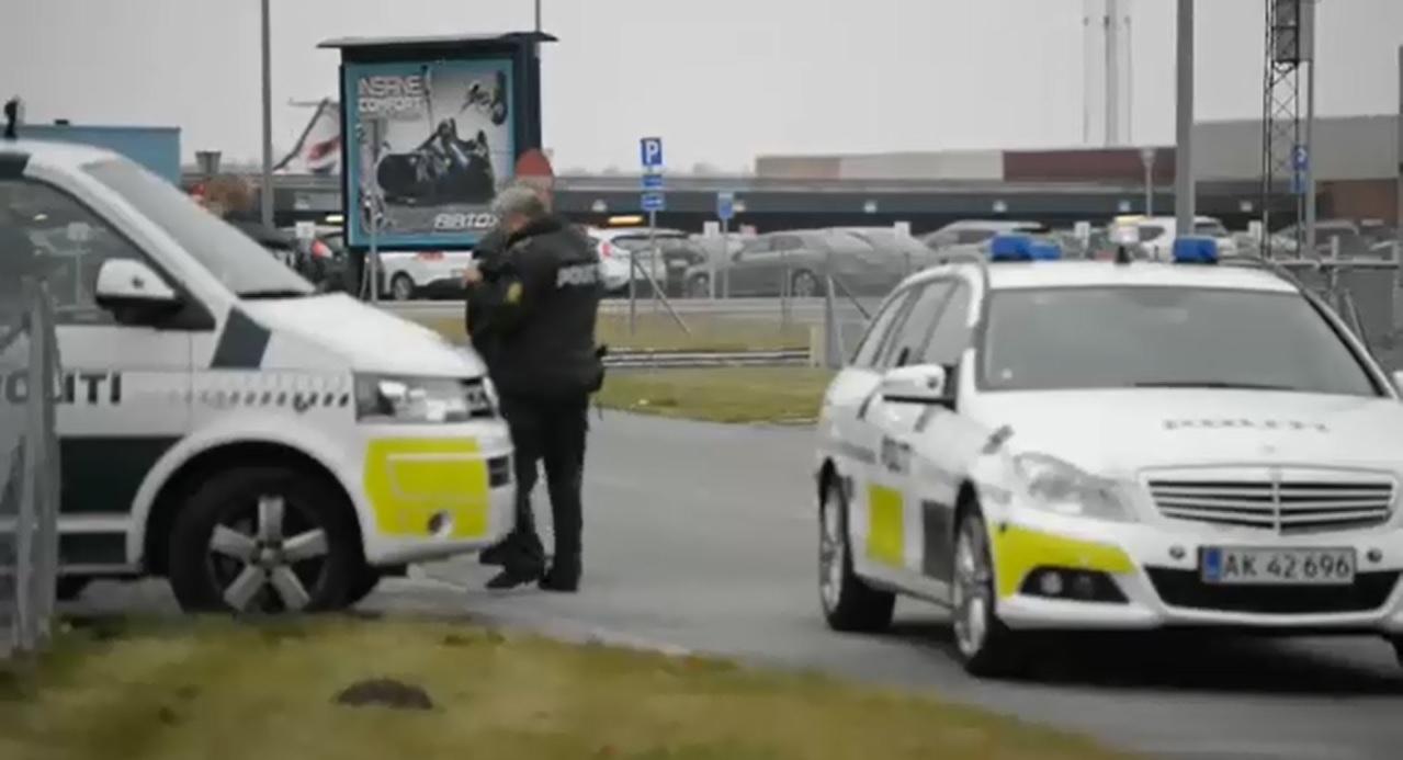 Из-за угрозы взрыва вДании эвакуировали два аэропорта