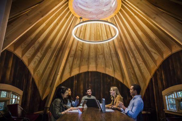 Microsoft построила комфортабельные домики надеревьях для собственных служащих 1