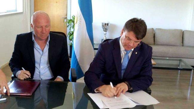 У вівторок Міністерство молоді та спорту України підписало угоду про  співпрацю в сфері фізичної культури і спорту з Секретаріатом спорту  Аргентинської ... e7297b447639b