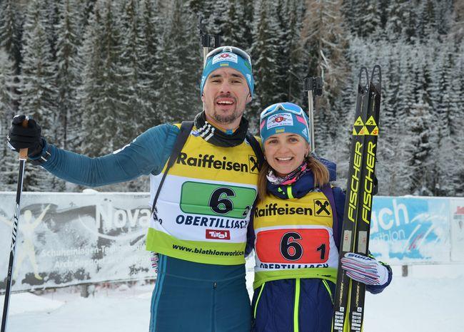 Украинские биатлонисты завоевали «бронзу» натретьем этапе Кубка IBU
