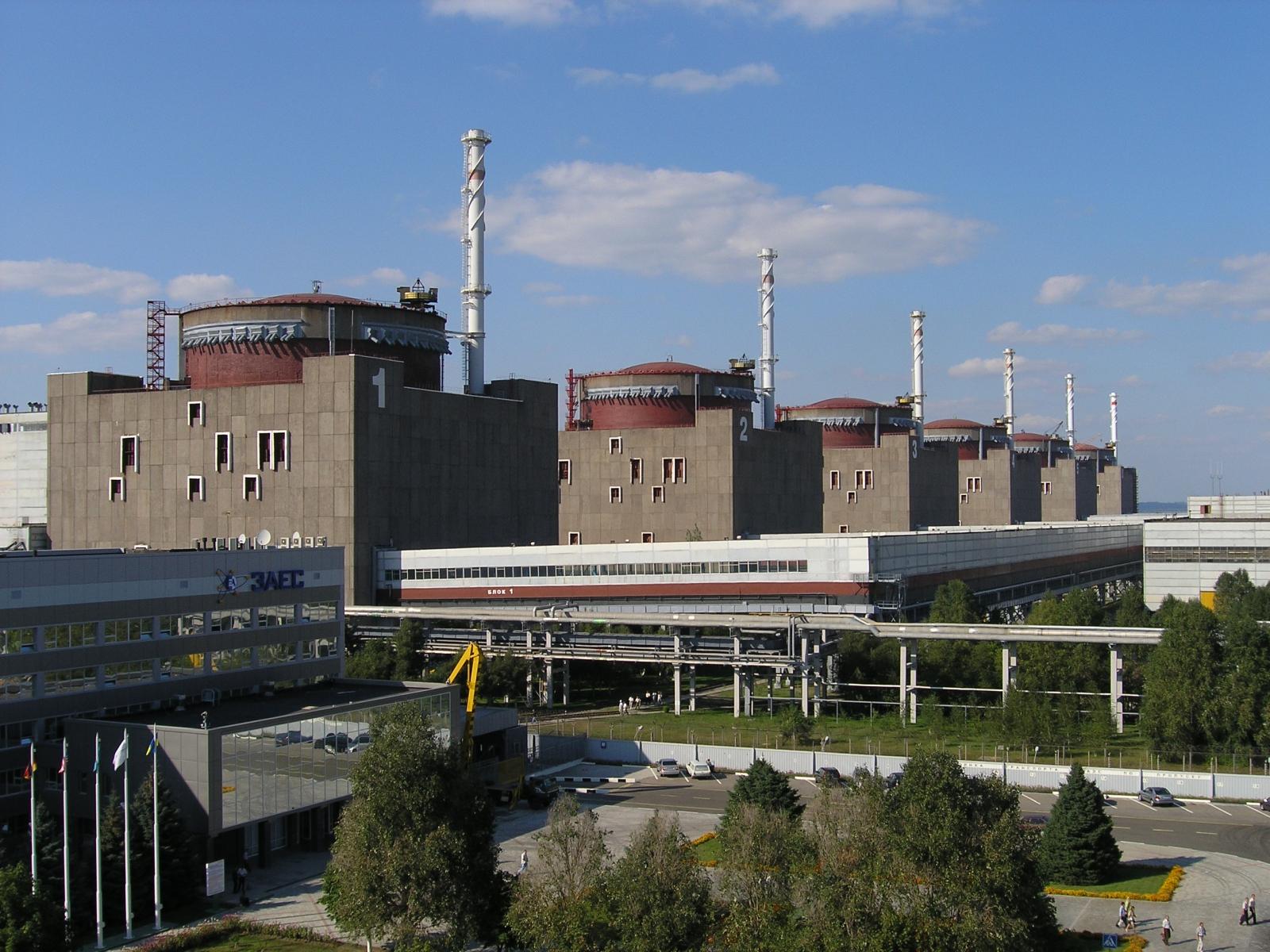 НаЗапорожской АЭС отключился энергоблок