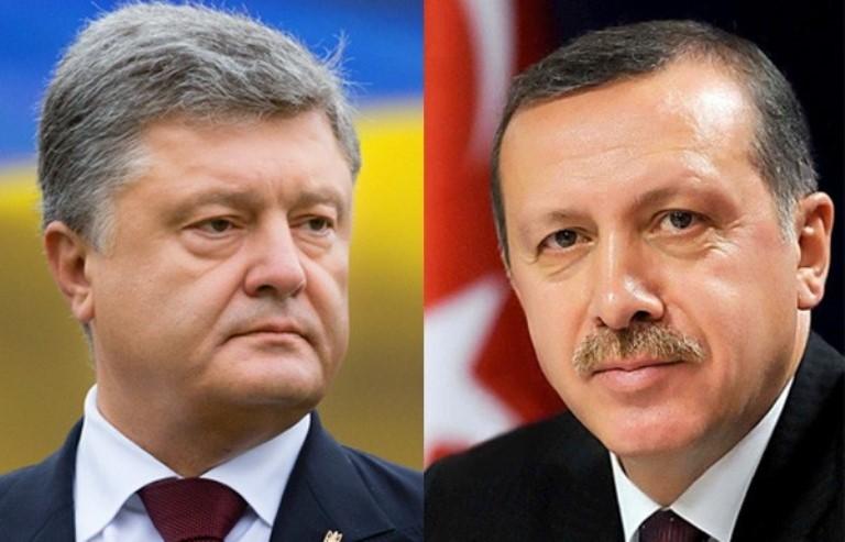 П.Порошенко та Р.Ердоган обговорили подальші кроки зрозвитку стратегічного партнерства