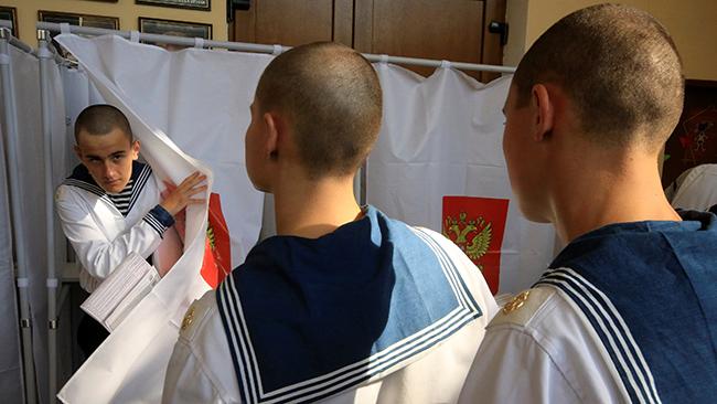 Бюджетников Крыма наизбирательных участках отслеживают поспискам