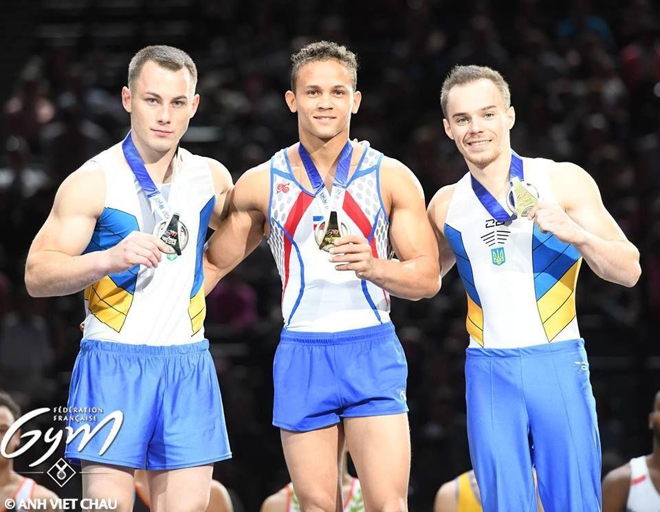 Украинские гимнасты завоевали восемь наград наКубке мира встолице франции