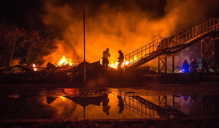 Пожежа утаборі вОдесі: Гройсман нарешті зробив заяву