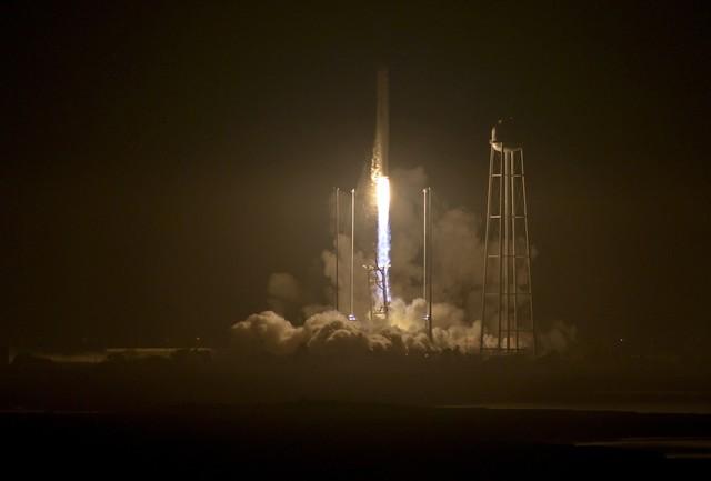 Ракета-носитель Antares сукраинской ступенью благополучно стартовала вСША