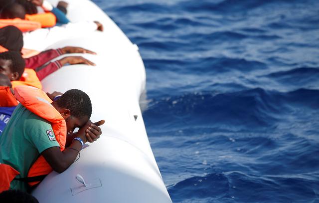 Всамом начале года вСредиземном море утонули практически 4700 мигрантов
