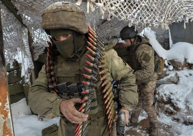 Взоне АТО «Грузинский легион» попал под артобстрел, восемь бойцов ранены