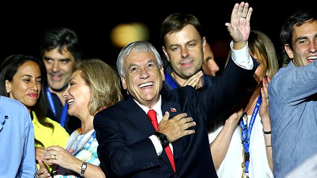 Президентом чили вовторой разизбран себастьян пиньера