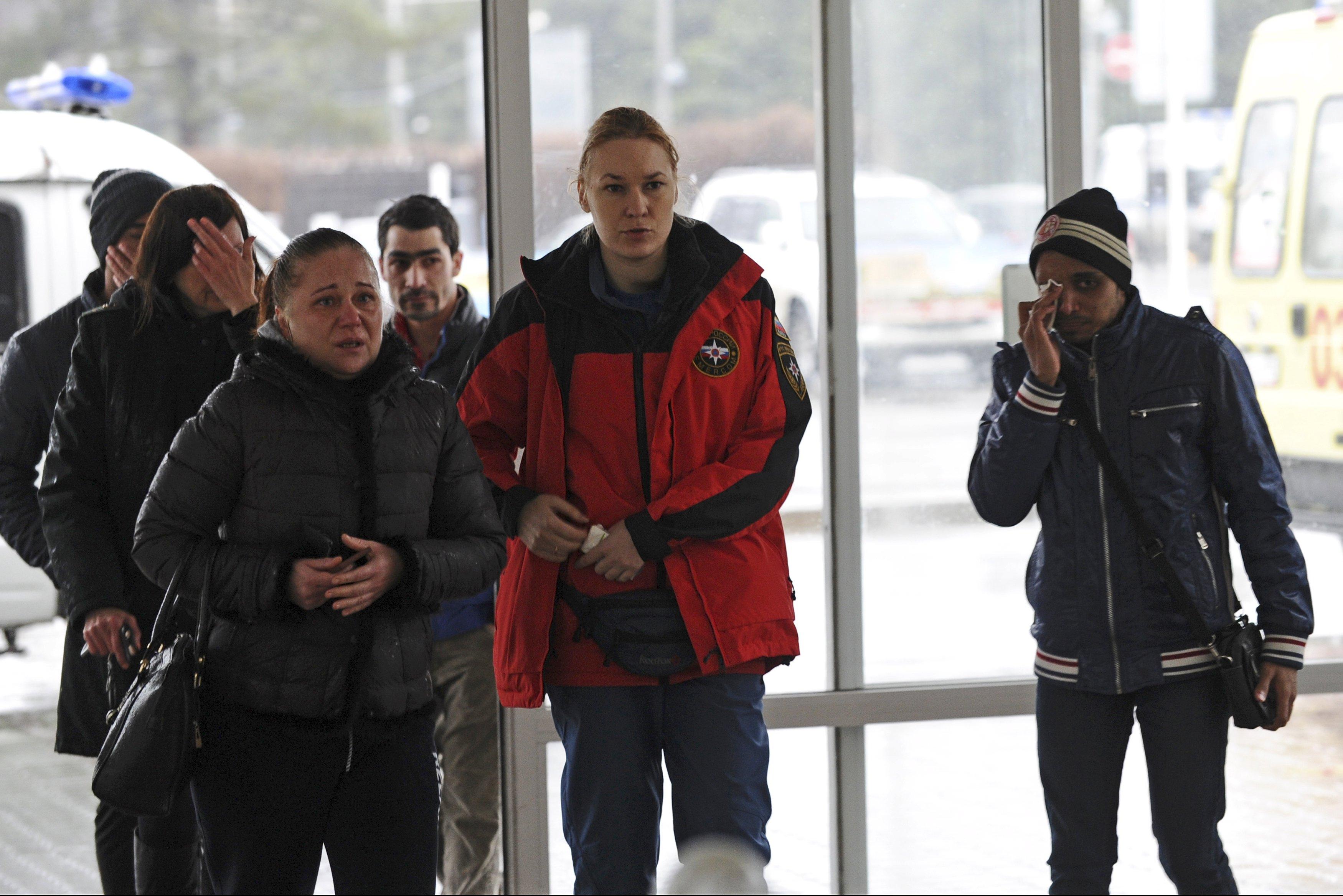 В аэропорту Ростова-на-Дону разбился самолет авиакомпании FlyDubai