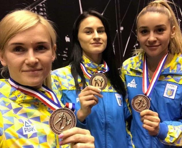 Украинские каратистки привезли три бронзы изтурнира вРоттердаме