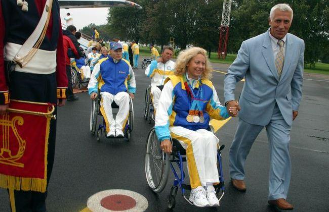 ВКиеве презентовали новейшую форму для украинских паралимпийцев