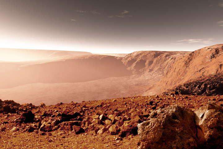 Mars Odyssey знайшов щось грандіозне під поверхнею Марса