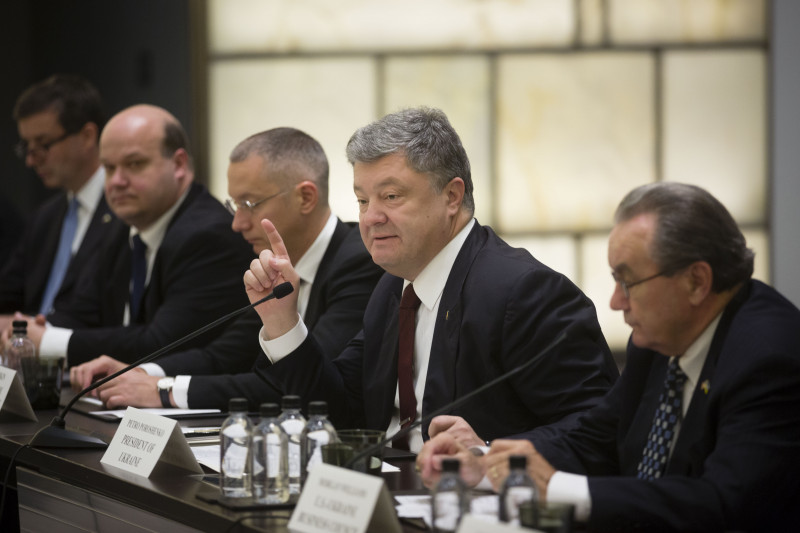 Порошенко вСША: Самое время инвестировать в государство Украину