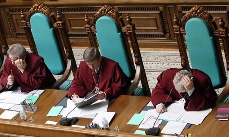 КСУ начал рассмотрение дела олишении беглого Януковича звания президента