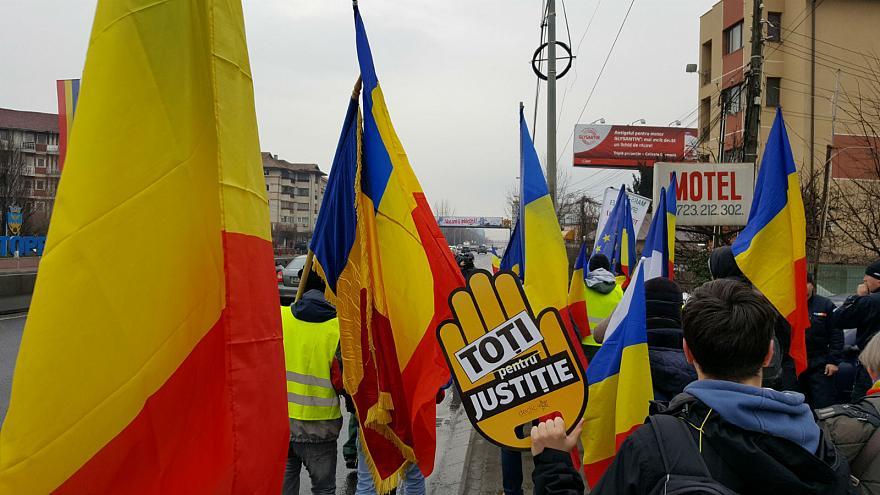 ВРумынии намарш против судебной реформы вышли около 70 тыс. человек