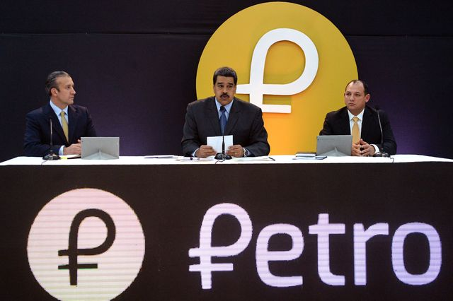 Трамп желает запретить криптовалюту Мадуро
