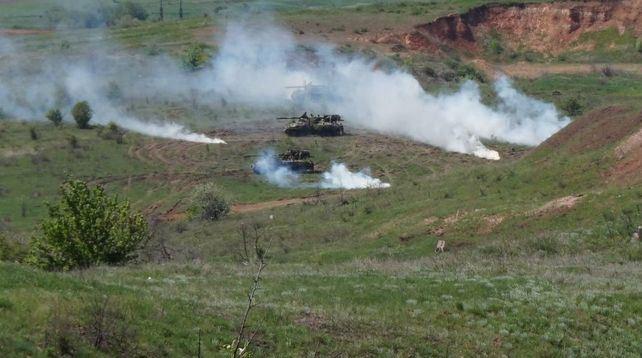 Восемь танкистов пострадали вовремя состязаний наДнепропетровщине