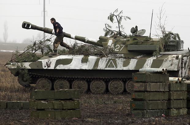 Боевики 17 раз открывали огонь попозициям украинских военных— День вАТО