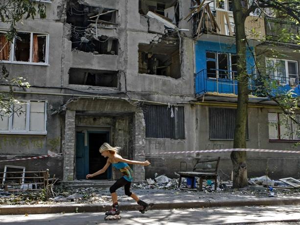 4 мирных граждане ранены наукраинской части Донецкой области