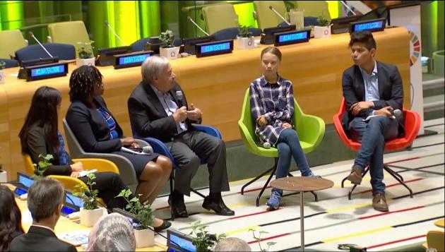 В ООН проходит Молодежный климатический саммит