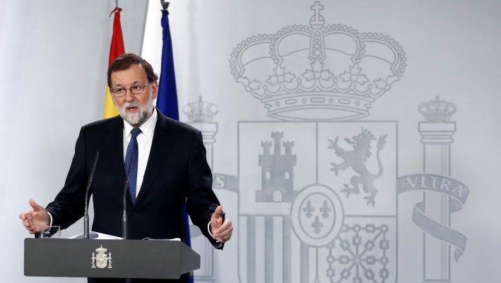 Мадрид возьмет насебя некоторые функции руководства Каталонии