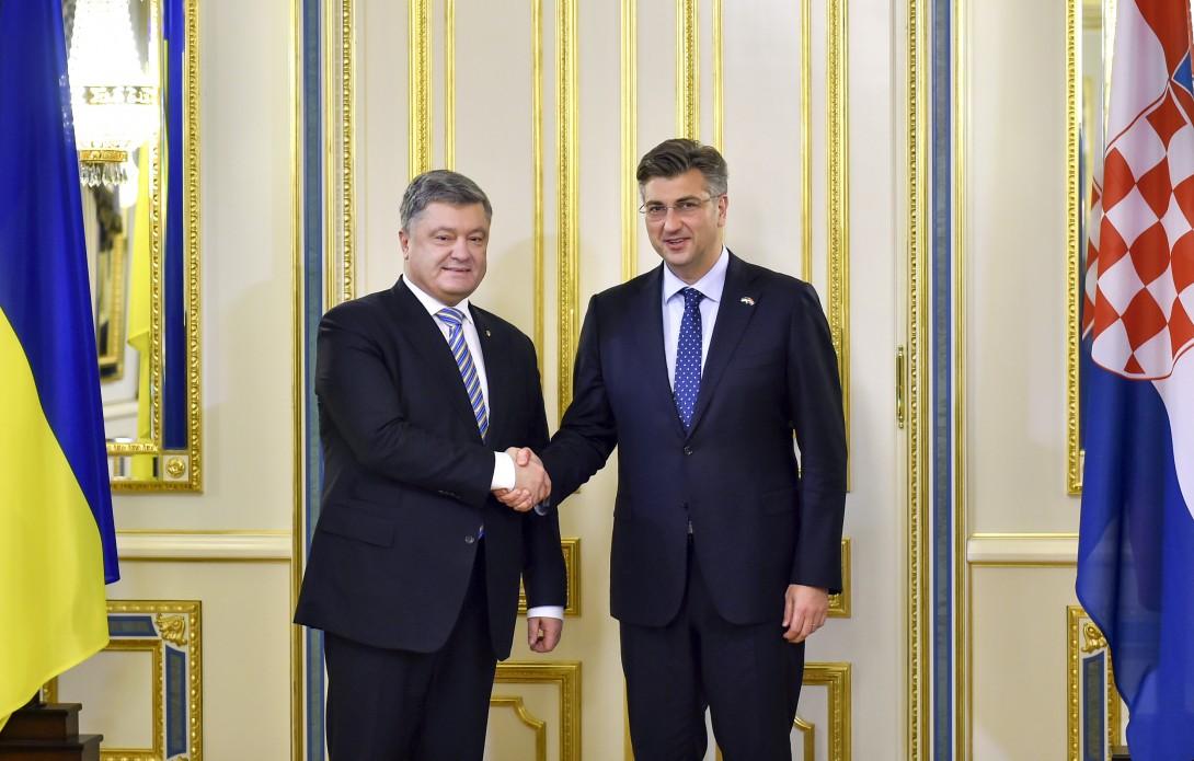 Хорватия готова посодействовать Украине пореинтеграции захваченных территорий— А.Пленкович