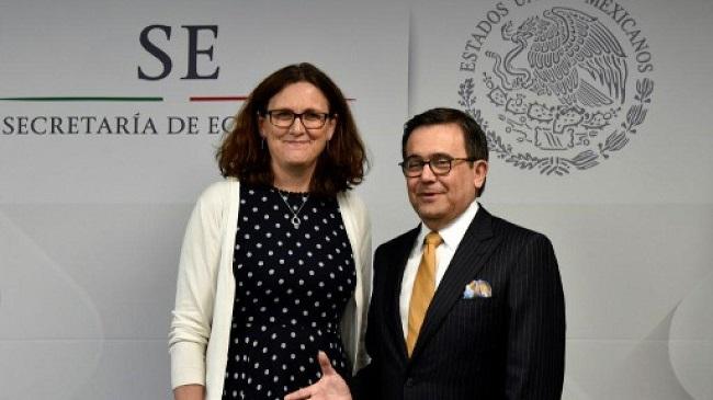 ЕСиМексика договорились освободной торговле