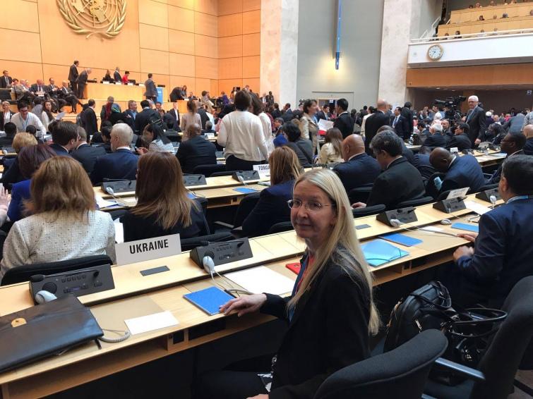 Скворцову выбрали председателем глобальной ассамблеи здравоохранения