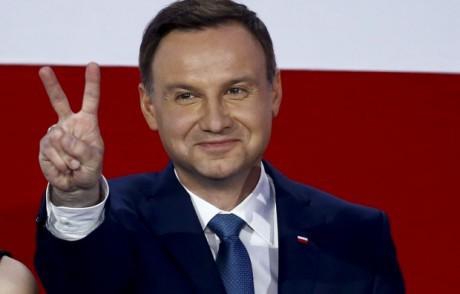 В Украинское государство прибыл руководитель Польши Анджей Дуда