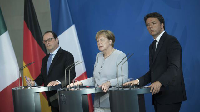 Меркель увидела «огромные проблемы» вЕС
