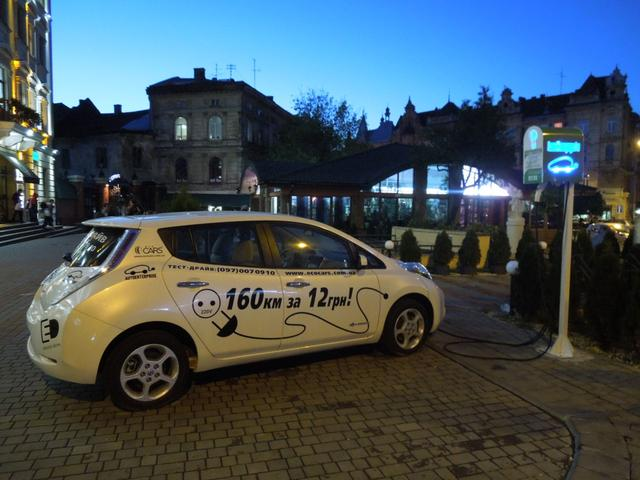 Украина влидерах попродаже электромобилей