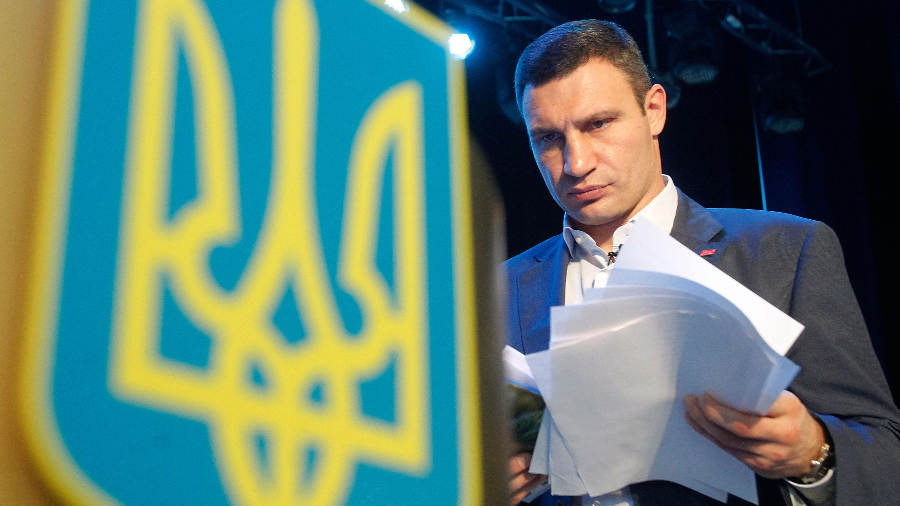 Кличка рекомендували напосаду голови Асоціації міст України