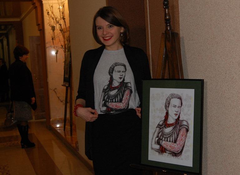 Google выпустил 'дудл' в честь юбилея Леси Украинки