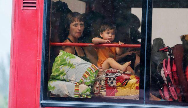 ВУкраинском государстве насчитали неменее 1,7 млн. вынужденных переселенцев