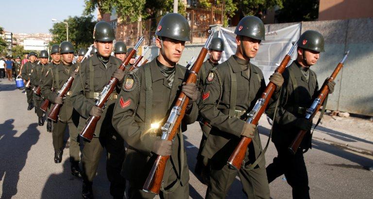ВТурции отправили вотставку 586 полковников