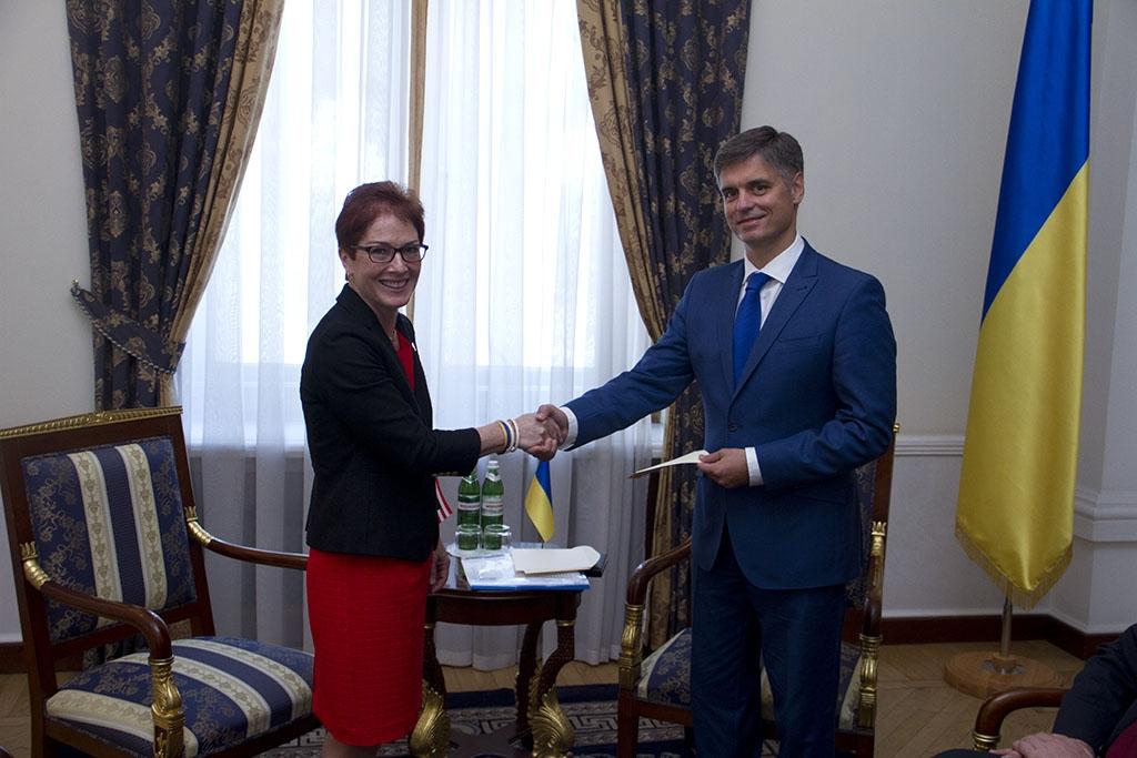 Новый посол США Йованович обратилась кукраинцам