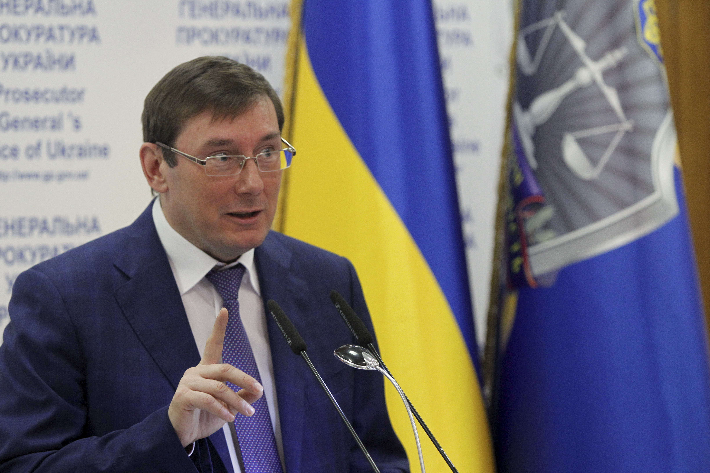Клименко иКурченко нанесли Украине 198 млрд гривен убытков— Луценко
