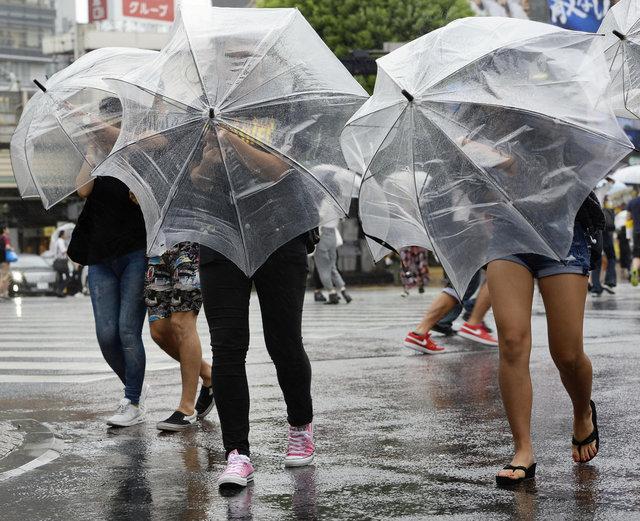 Тайфун вцентре Японии: эвакуированы десятки тыс. жителей