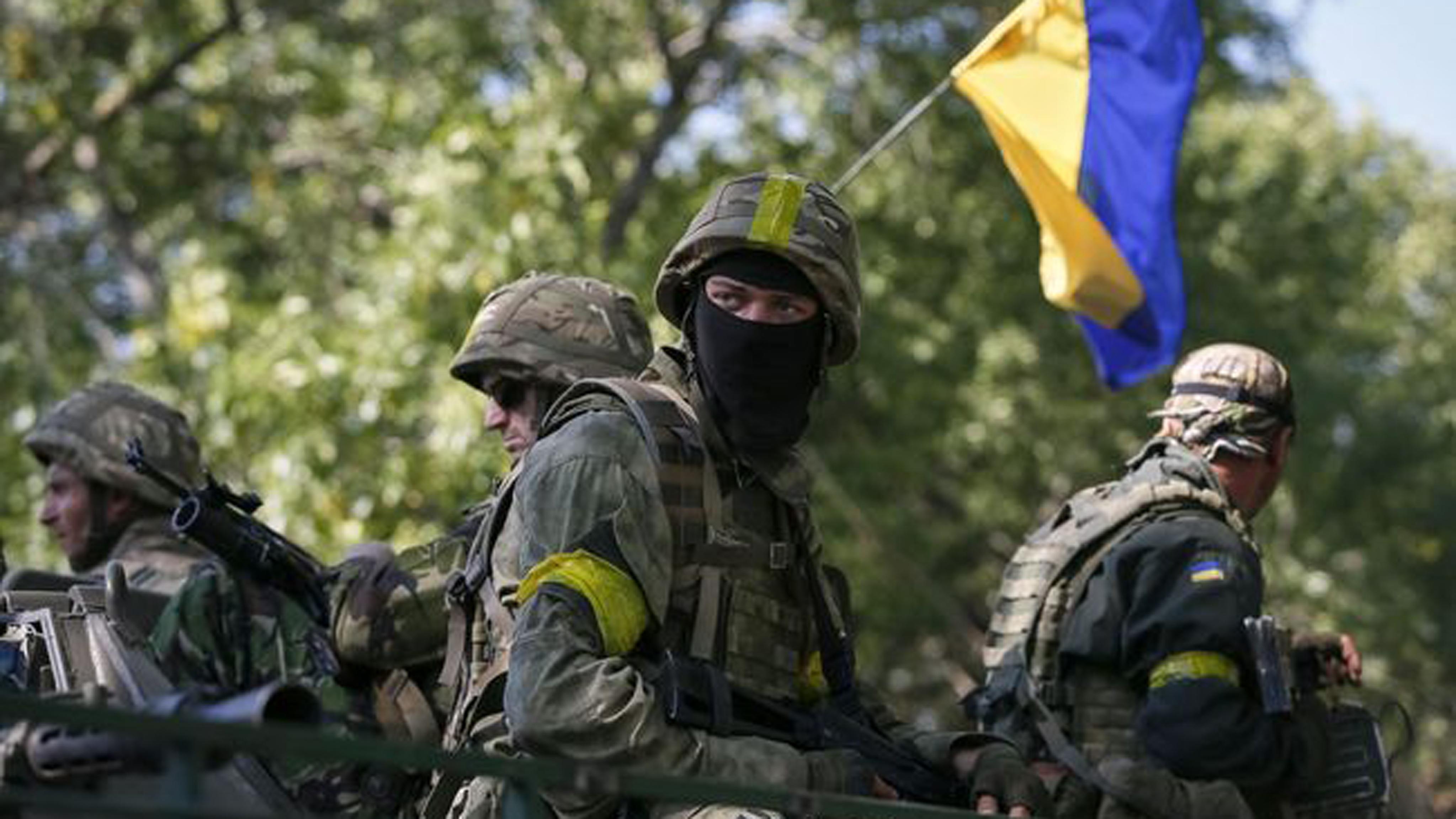 Штаб АТО: Боевики применили вКрасногоровке крупнокалиберные пулеметы