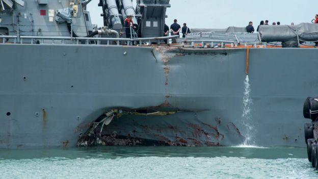 Командующего Седьмым флотом США отправят впозорную отставку