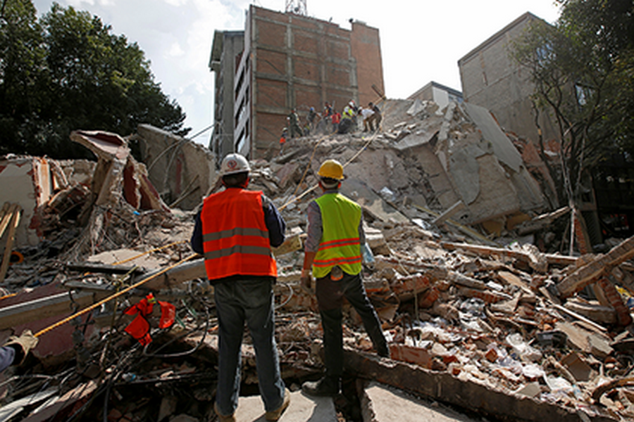 Очаг находился уЭльдорадо: вМексике снова удар подземной стихии
