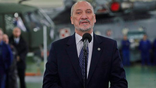 «Кремль источник военной угрозы для Европы»— Министр обороны Польши