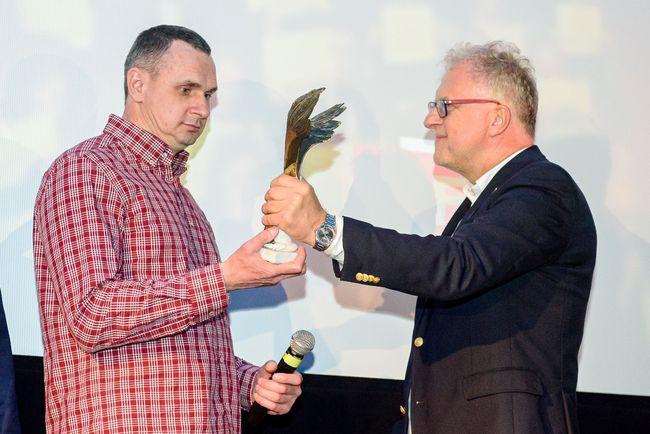 Сенцов получил награду Польской киноакадемии за «Мужество и несокрушимость»