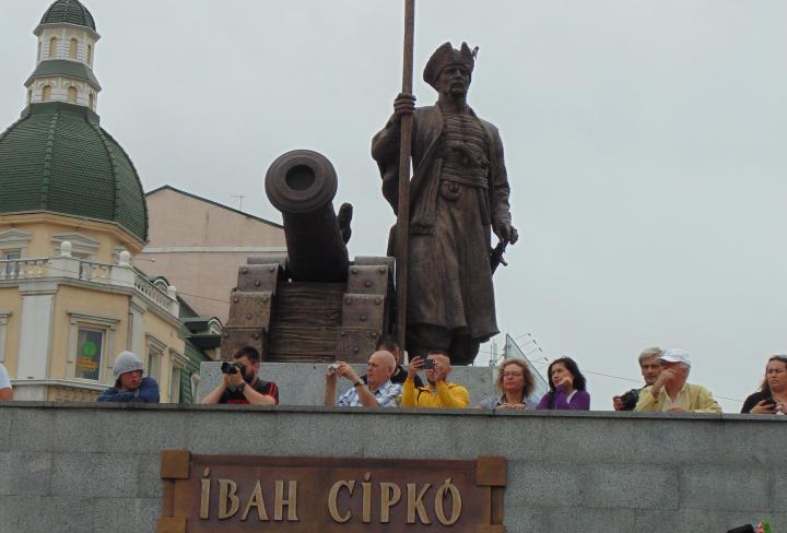 ВХарькове разрушен знаменитый знак «русскому чёрту»