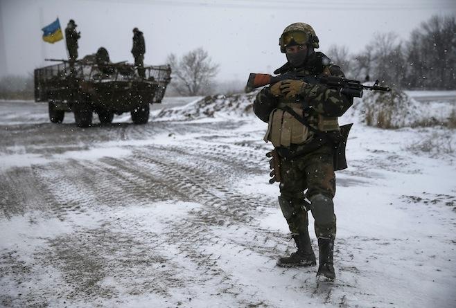 Вовремя обстрела боевиков умер украинский военный— Штаб АТО