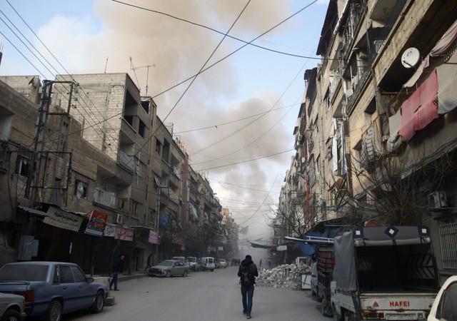 Занеделю бомбардировок Восточной Гуты погибли как минимум 500 гражданских